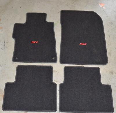 NEW Genuine OEM 2014-2015 Honda Civic Si Floor Mat Set - 83600-TR7-A21ZA 4 door