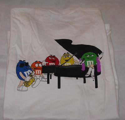 M&M Piano Logo with 5 m&m charactors M&M's