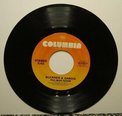 BUCKNER & GARCIA PAC-MAN FEVER (VG+) 18-02673 45 RPM VINYL RECORD