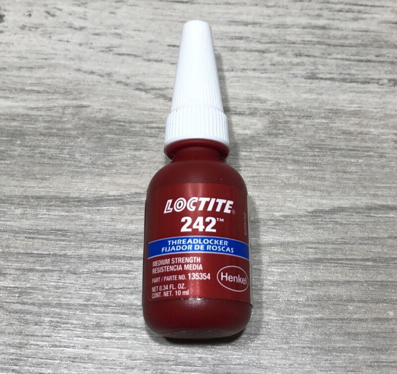 Loctite 242 Threadlocker Medium Strength 10ml USA  Bolt Thread Locker Lock Tight