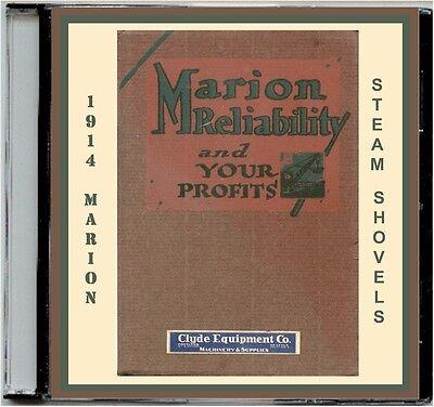 1914 Marion Steam Shovel Catalog 93 Cd-mdls21283136