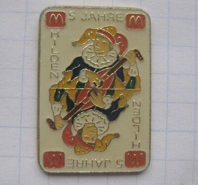M / HILDEN / DEUTSCHLAND / JOKER   ............. Mc Donald´s-Pin (170d)