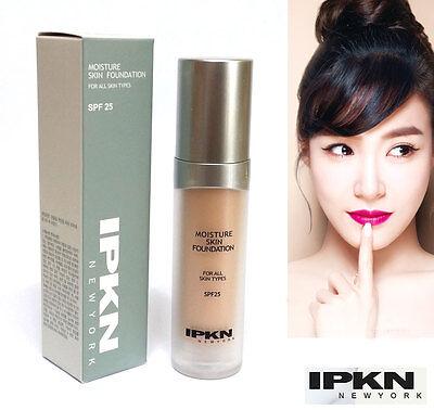 [IPKN] Moisture Skin Foundation 35ml / moist & radiant skin / Korean Cosmetics