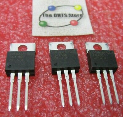 Lm1086 National Semiconductor Adjustable Voltage Regulator To-220 - Nos Qty 3