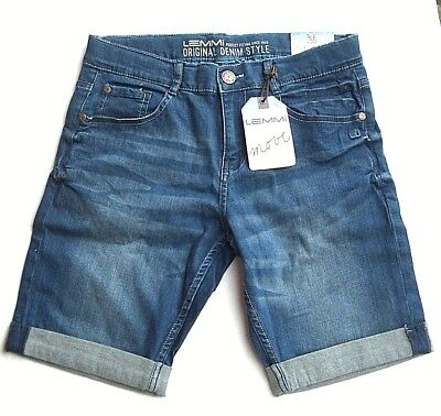 LEMMI Boys Jeans Bermuda blue denim Gr. 152 - 176  BIG  UVP  35,95 €  1880338044 Boys Blue Denim