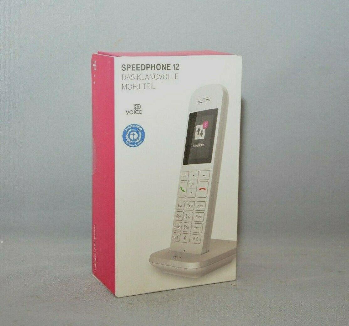 Telekom Speedphone 12 weiß schnurloses Telefon DECT NEU mit Rechnung inkl. MwSt