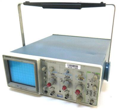 Tektronix 2213 Two Channel 60 Mhz Analog Oscilloscope