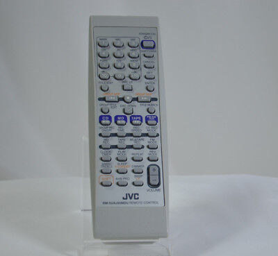 JVC RM-SUXJ55MDU HOME AUDIO TAPE MD Player Remote Control Unit TESTED WORKS #171 Jvc Home Audio