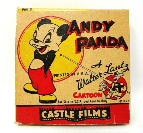(4) Vintage Castle Films - 8mm in boxes