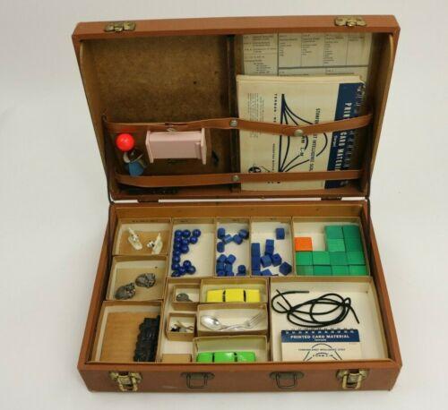 Vintage Rare 1960 Stanford-Binet Intelligence Scale Kit with Original Case