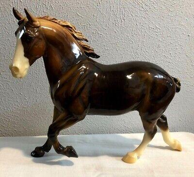 BREYER TRADITIONAL HORSE WIXOM EQUINOX PERCHERON MARE 2002 QVC
