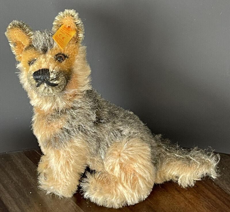 Rare Steiff German Shepherd Dog 035890