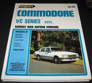VC Commodore 6Cyl Service & Repair manual 183 Salisbury Heights Salisbury Area Preview