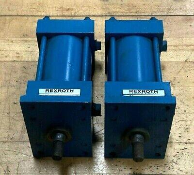 Lot 2 Rexroth Hydraulic Cylinder Mf1-pp- 2-12x2 L-192 250 Psi P115994-0020
