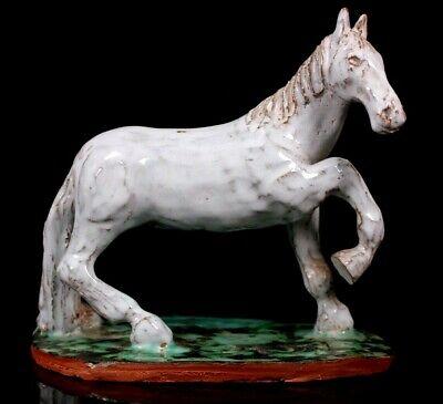 Vintage Horse Studio Art Pottery Walter Bosse Signed MW