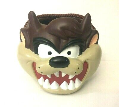 Vintage TAZ Tasmanian Devil Vinyl Plastic Halloween Candy Bucket Applause - Taz Halloween