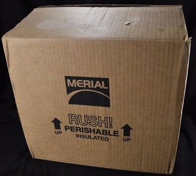 Styrofoam Eps Panel Cooler Insulated Shipping Box 14.5 X 12.75 X 12h