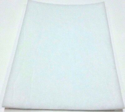 filter white sheet fireproof for air conditioner