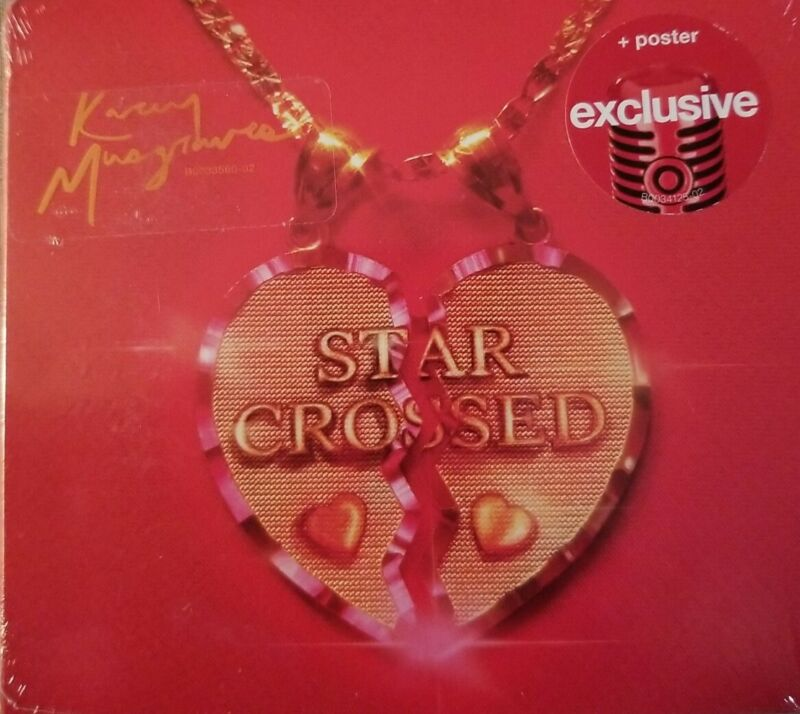Kacey Musgraves Star-Crossed Target Exclusive Cd With Poster Country