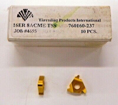 10 Pieces Tpi 16er 8acme T5s Carbide Inserts  H064