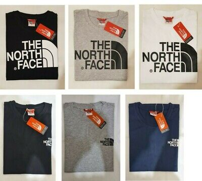 The North Face Mens T shirt Short Sleeve Crew Neck Size S M L XL XXL=2 Styles