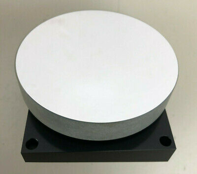 Round Mirror For Laser Or Optical Setup 93mm Diameter 18mm Tick On Heavy Mount