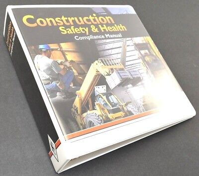 Construction Binder - Construction SAFETY & HEALTH Compliance Manual, BINDER ONLY - Empty 3.5