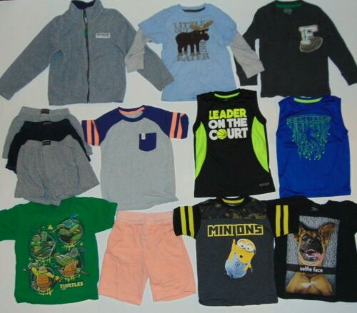 Clothes Lot 13 Pieces BOYS Size 4 4/5 5 Kids Clothing Lot Mix T-Shirts Shorts