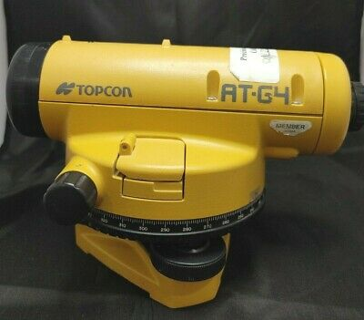 Topcon At-g4 Automatic Level For Surveying