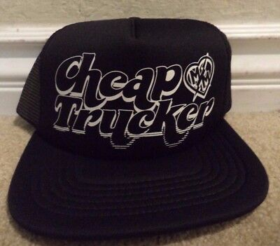 METAL MULISHA CHEAP TRUCKER CAP HAT BLACK SNAPBACK  *NEW* - Cheap Trucker Hats