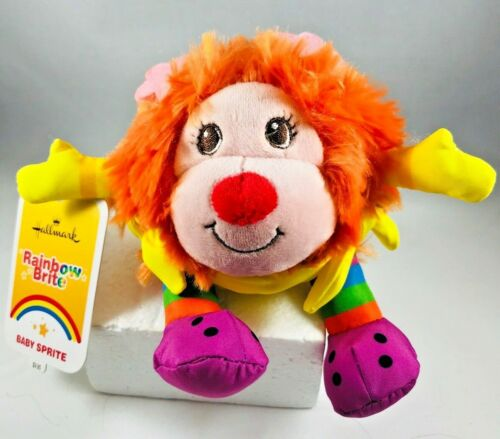 "Hallmark Rainbow Brite Baby Sprite ITSY 5"" Plush NWT Free Shipping"