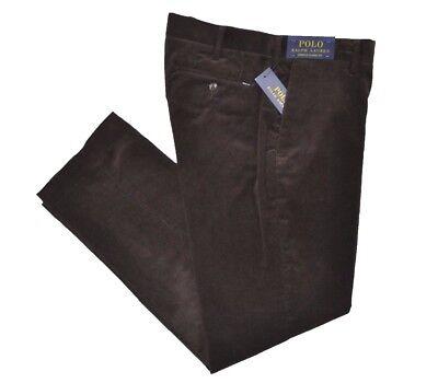 POLO RALPH LAUREN men's Classic Fit Stretch CORDUROY PANTS Mohican Brown W30x30L