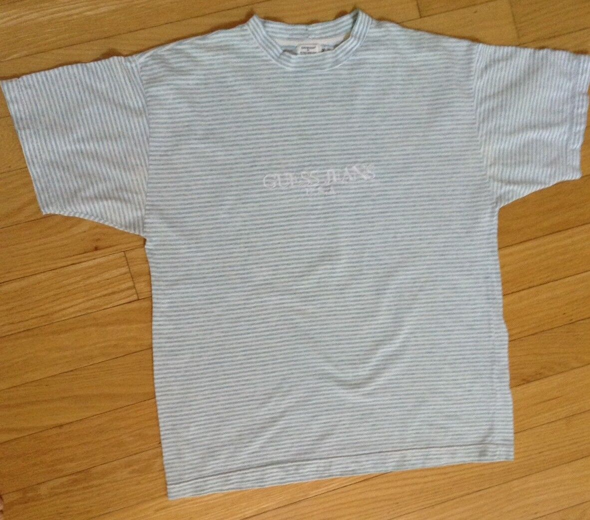 9015dc5f35 GUESS Long Sleeve Striped T-Shirts for Men for sale   eBay