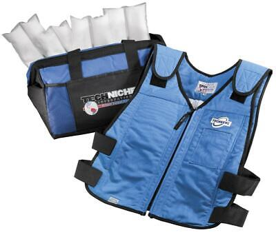 Techniche TechKewl 6626 Phase Change Cooling Vest with Inserts and Cooler - -
