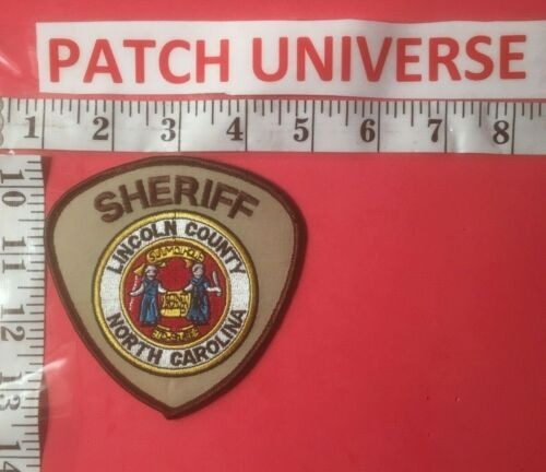 LINCOLN  COUNTY NC SHERIFF  SHOULDER  PATCH  B026