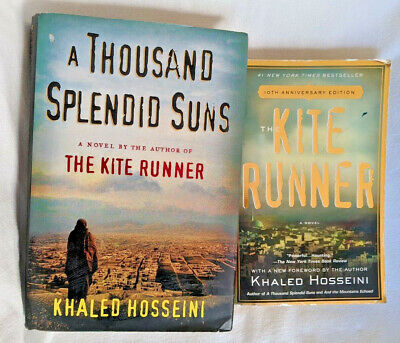 The Kite Runner A Thousand Splendid Suns 2 Novels by Khaled Hosseini BB08