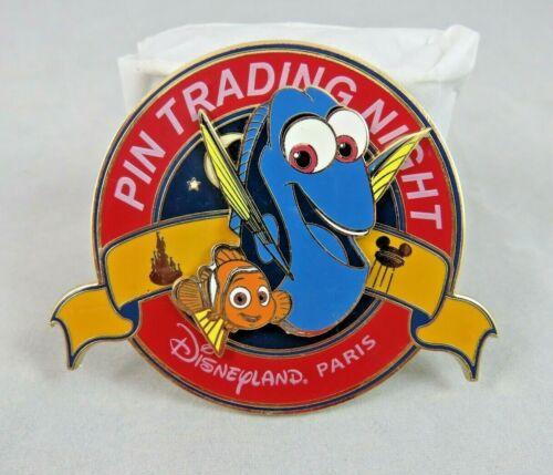 Disney Disneyland Paris Pin - Trading Night - Mini Jumbo - Finding Dory and Nemo