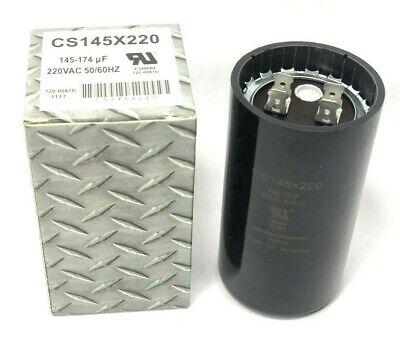 145-174 Uf Start Capacitor 220 Vac Pool Pump Air Compressor Motor Fan Hvac Ac