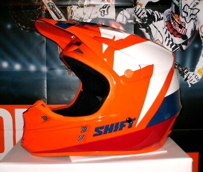 SHIFT WHIT3 Tarmac Cross Helm NEU L Enduro MTB Fox KTM Orange...
