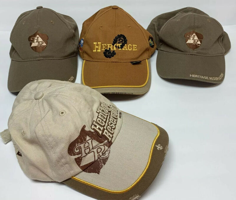 LOT 4 BSA Hats Boy Scouts of America Baseball Hats Caps Adjustable Strapback