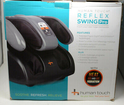 Human touch reflex swing pro foot and calf and thigh massager with heat.