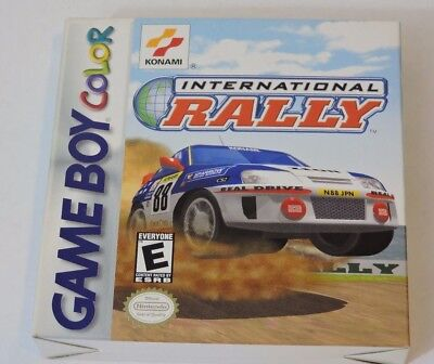 International Rally Nintendo Game Boy Color Complete In Box Cib Game Manual