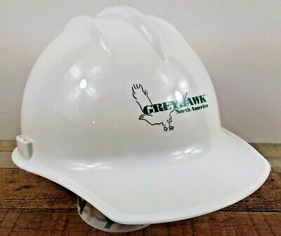 Bullard White Large Adjustable Construction Hard Hat Model 3000 Made In Usa