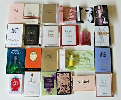 24 Düfte Parfumpröbchen für Adventskalender - Damen