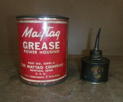 Maytag Oil Can Can Of Grease Part 55991-x Gas Engine Motor