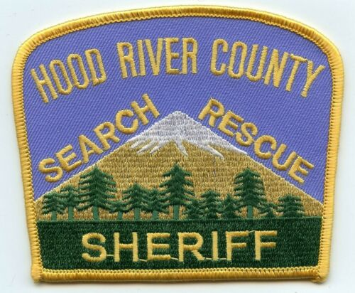 HOOD RIVER COUNTY OREGON OR Search and Rescue SHERIFF POLICE PATCH