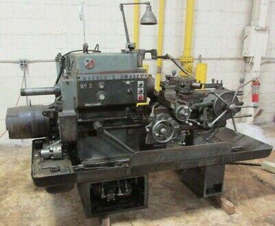 Warner Swasey Turret Metal Lathe No. 3 3755lr