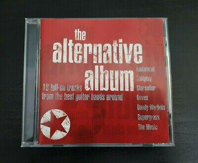 CD ALBUM - THE ALTERNATIVE ALBUM - 18 FULL-ON TRACKS FROM THE BEST GUITAR BANDS