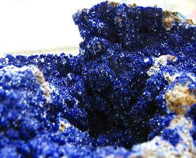 AZURITE INTENSE BLUE COLOR & GREEN MALACHITE from CHILE..........WONDERFUL (Azurite Blue Color)