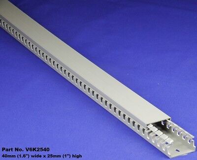 24 Sets - 1.5x1x2m Gray High Density Premium Wiring Ducts And Covers-ulcecsa